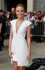 DANIELLE BRADBERY at Indy 500 in Indianapolis