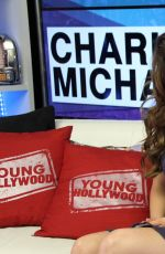 DANIELLE CAMPBELL at The Young Hollywood Studio in Los Angeles