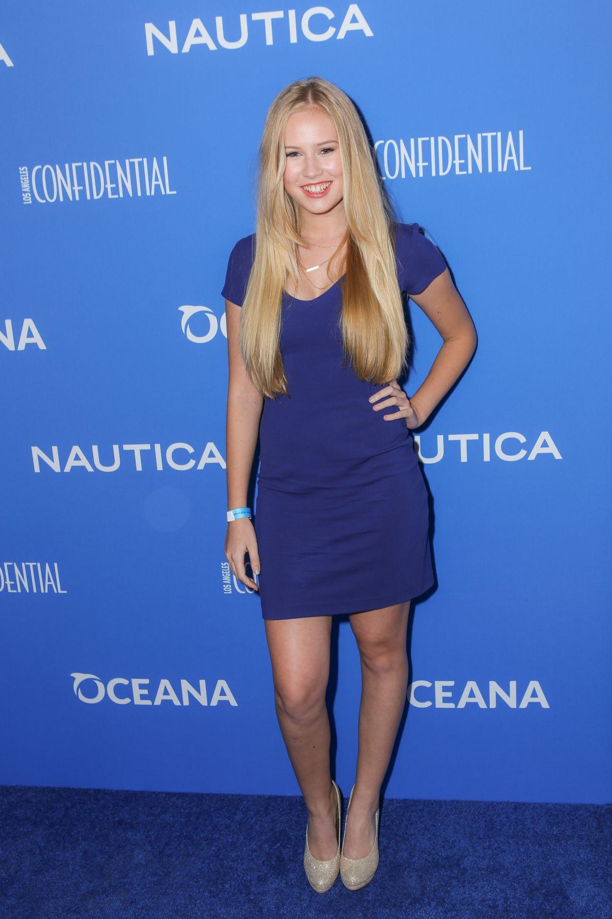 DANIKA YAROSH at 3rd Annual Nautica Oceana Beach House Party in Santa Monica
