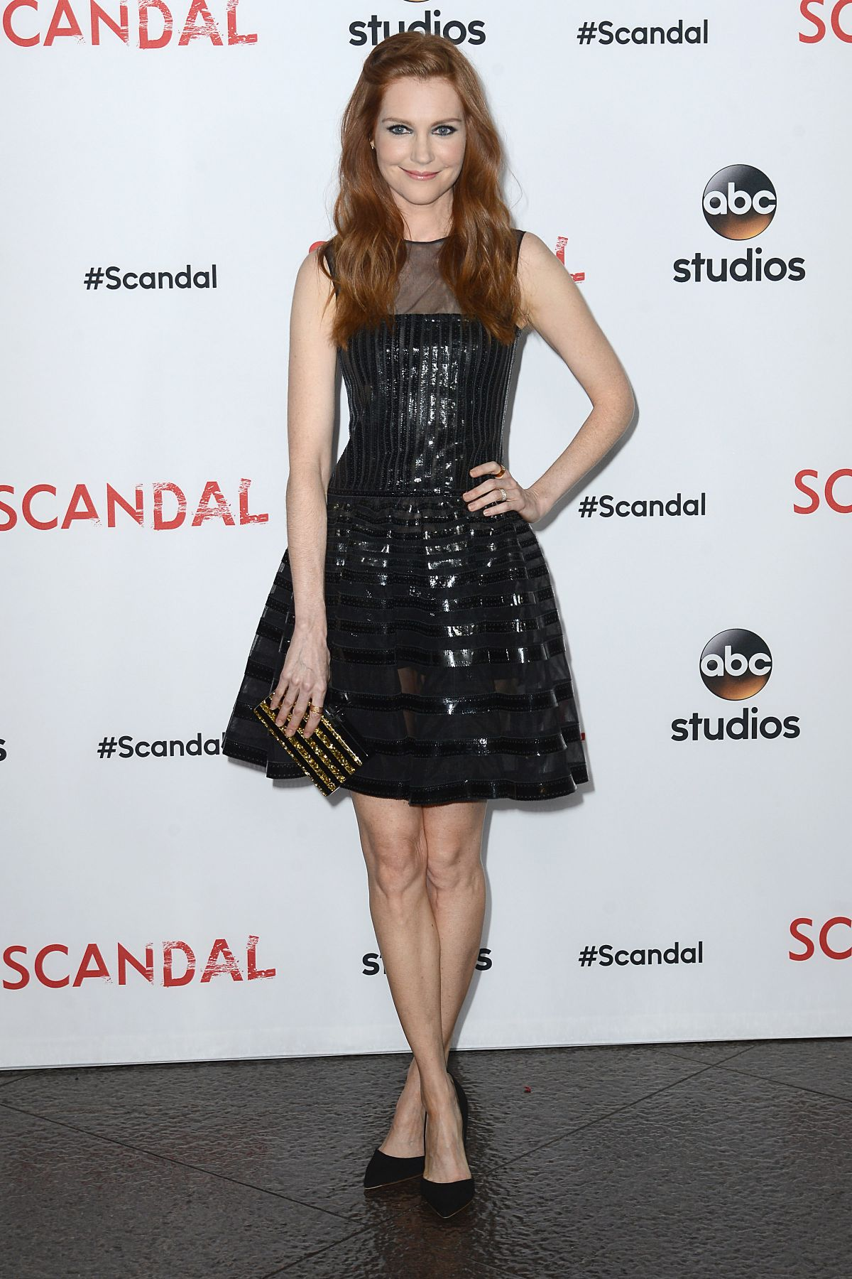 DARBY STANCHFIELD at Scandal Q&A Event Event in Los Angeles