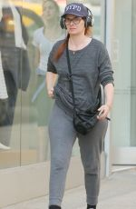 DEBRA MESSING Out in New York 04/03/2015
