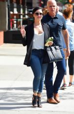 DEMI LOVATO Out and About in New York 05/26/2015