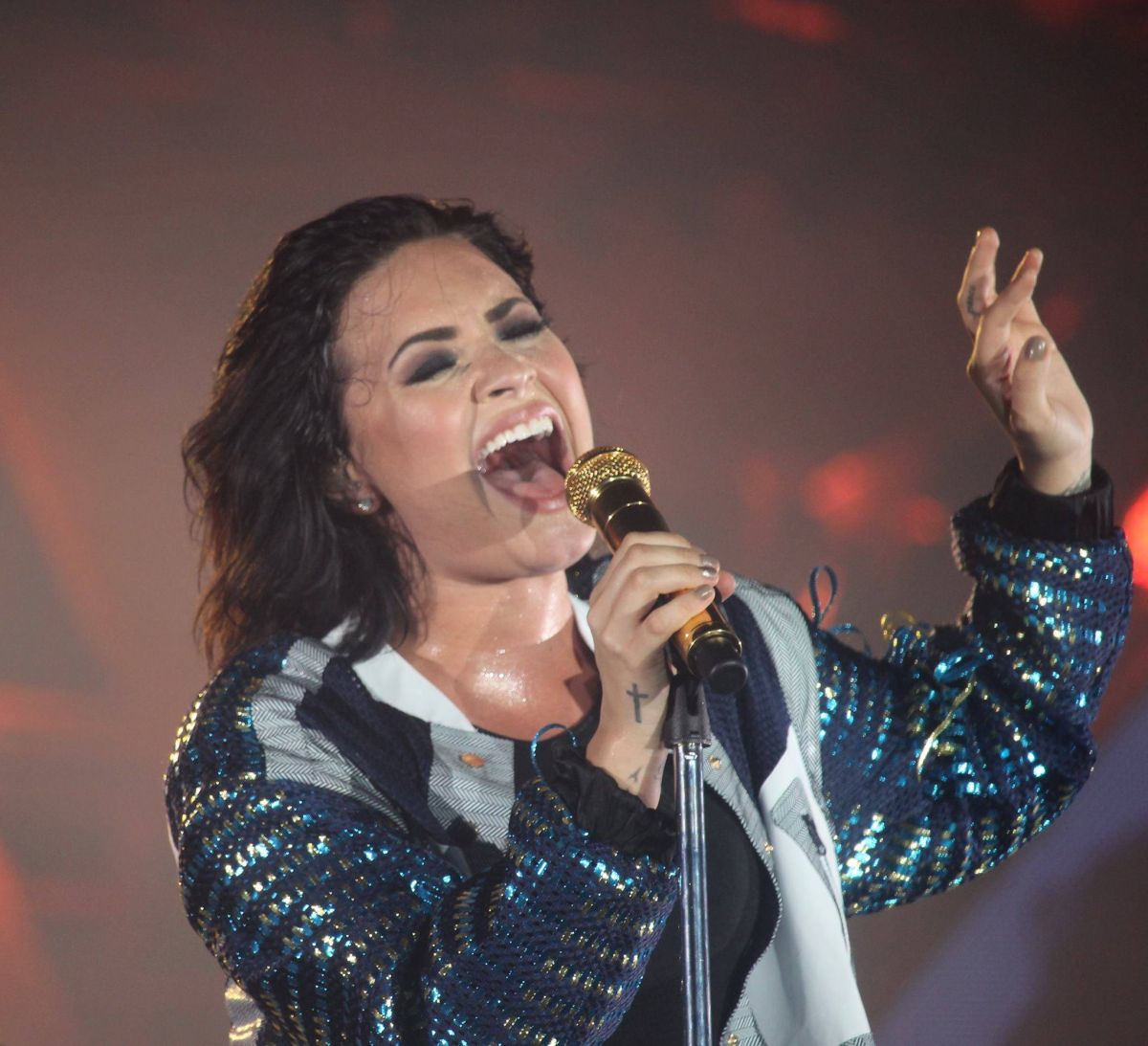 DEMI LOVATO Performs at Yan Beatfestival in Vietnam