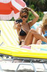 DEVIN BURGMAN and NATSHA OAKLEY in Bikinis at a Beach in Miami 05/06/2015