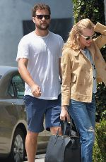 DIANE KRUGER and Joshua Jackson Out Shopping in Los Angeles 05/29/2015