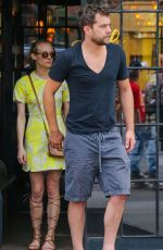 DIANE KRUGER Leaves Bowery Hotel in New York 05/05/2015