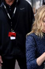 DIANE KRUGER Leaves Le Grand Journal in Cannes