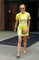DIANE KRUGER Leaves the Bowery Hotel in New York 05/05/2015