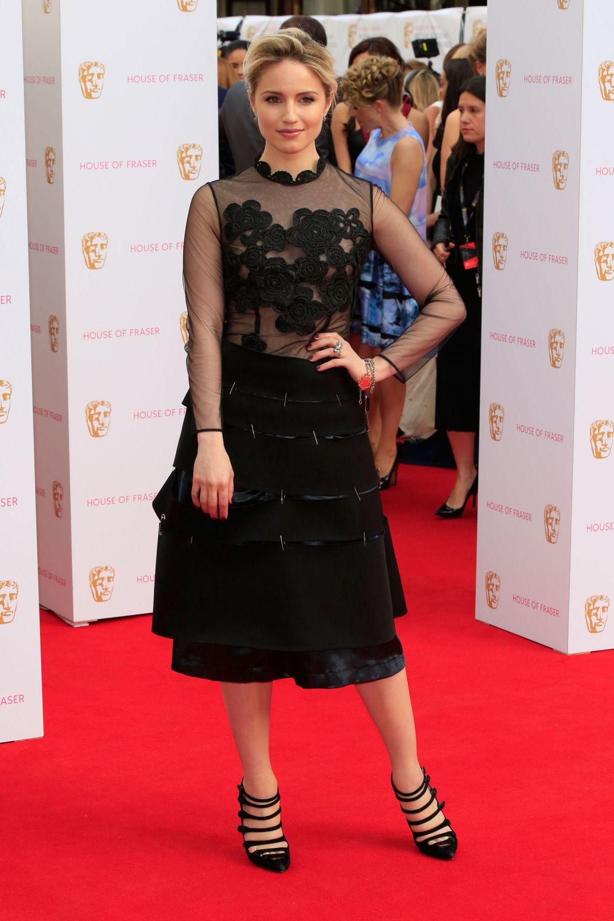 DIANNA AGRON at BAFTA 2015 Awards in London