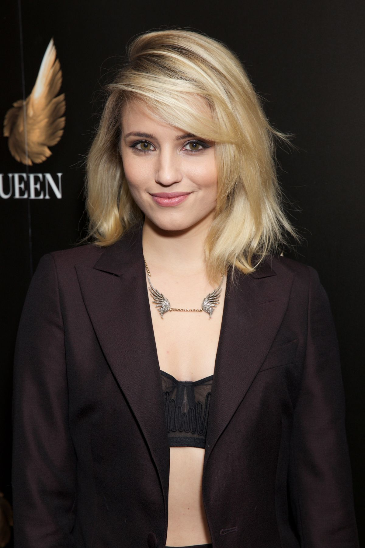DIANNA AGRON at McQueen The Play Press Night in London