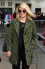 DIANNA AGRON Leaves Radio 1 Studios in London 05/22/2015
