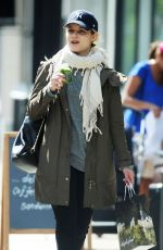 DIANNA AGRON Out Shopping in London 05/26/2015