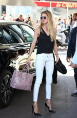 DOUTZEN KROES Arrives at Hotel Martinez in Cannes