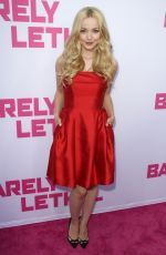DOVE CAMERON at Barely Lethal Premiere in Los Angeles