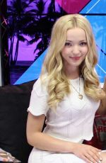 DOVE CAMERON< HAILEE STEINFELD and SOPHIE TURNER at Young Hollywood Studios in Los Angeles