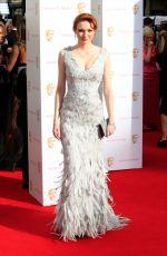 ELEANOR TOMLINSON at BAFTA 2015 Awards in London