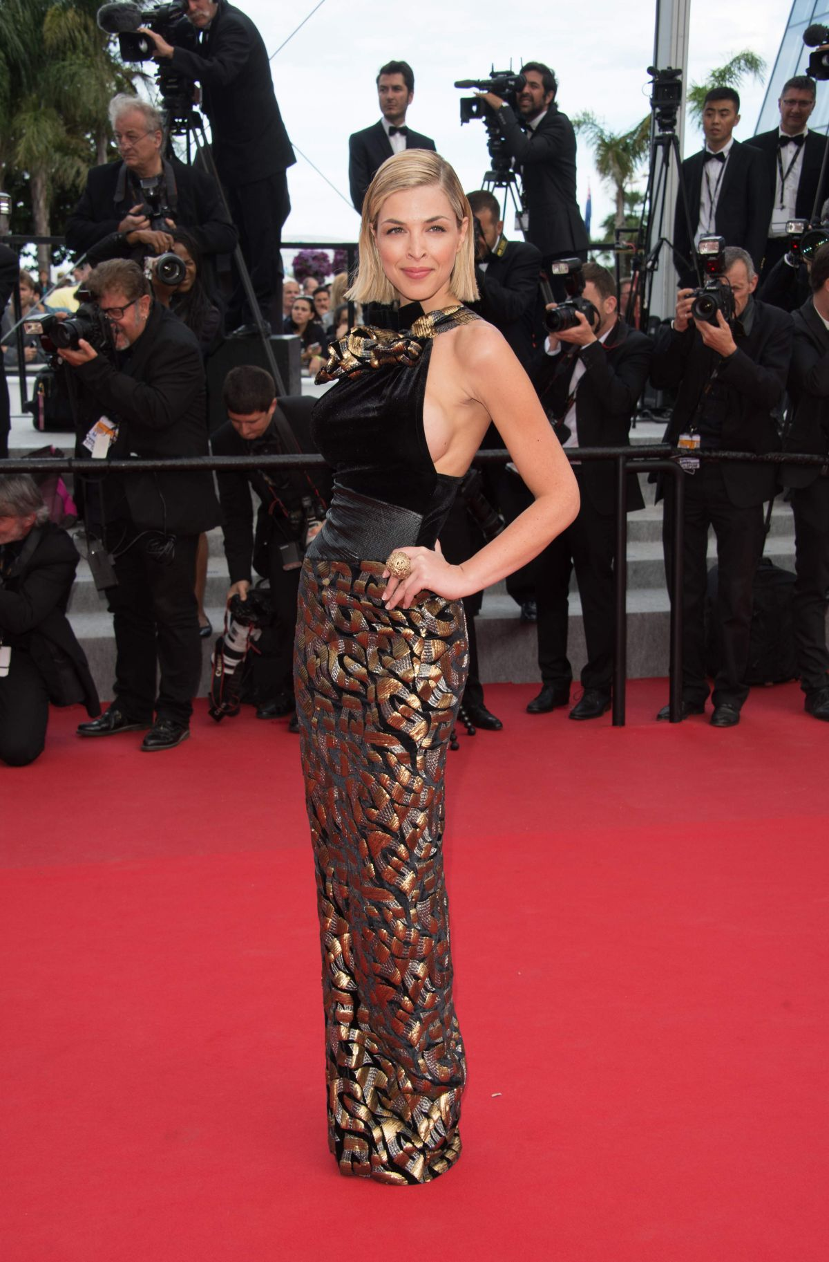ELEONORE BOCCARA at Dheepan Premiere at Cannes Film Festival
