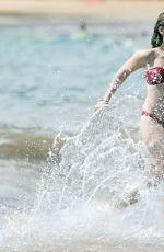 ELISABETH HARNOIS in Bikini at a Beach in
