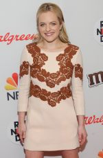 ELISABETH MOSS at Red Nose Day Charity Event in New York