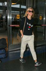 ELIZABETH BANKS Arrives at JFK Airport in New York 05/06/2015