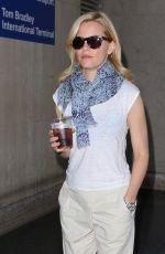 ELIZABETH BANKS at LAX Airport in Los Angeles 05/06/2015
