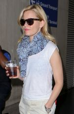 ELIZABETH BANKS at LAX Airport in Los Angeles 05/06/2015