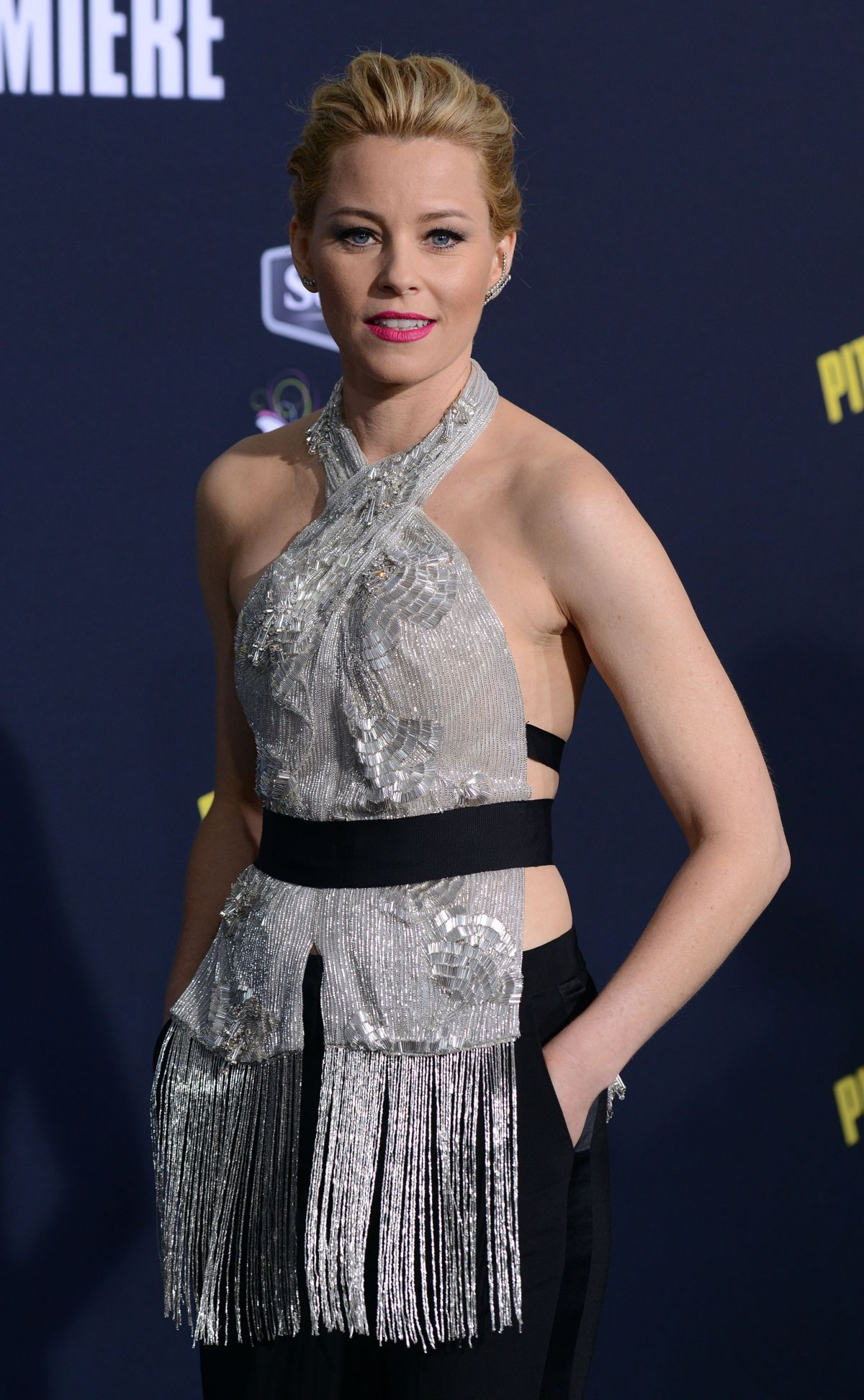 ELIZABETH BANKS at Pitch Perfect 2 Premiere in Los Angeles