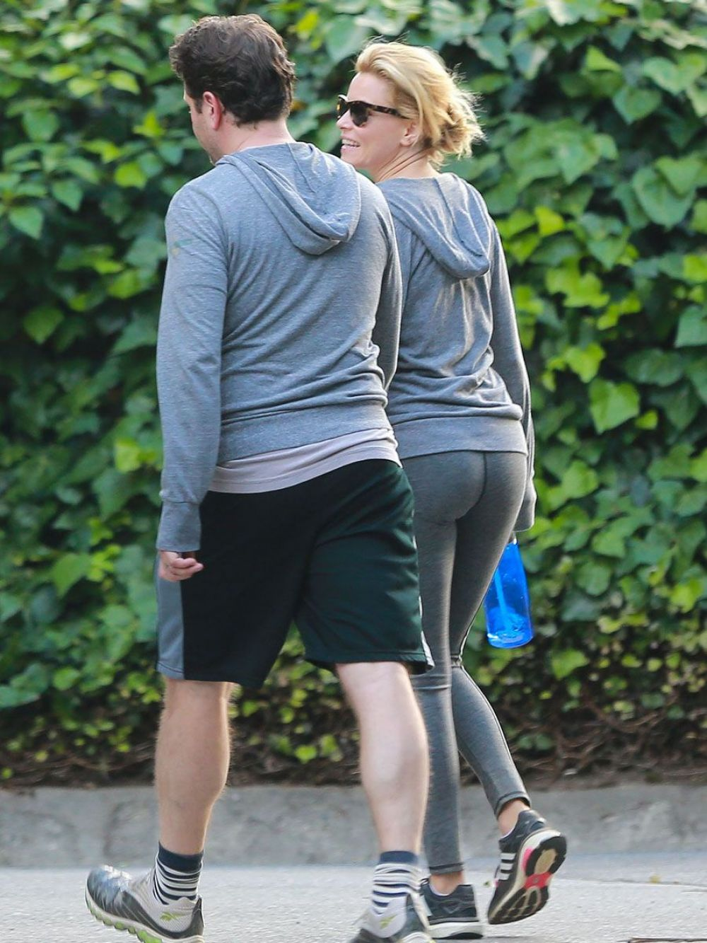 ELIZABETH BANKS Out for a Walk in Los Angeles 05/07/2015