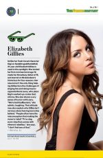 ELIZABETH GILLIES in Entertainment Weekly, Summer Double 2015 Issue