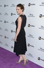 ELIZABETH HENSTRIDGE at Disney Media Distribution 2015 International Upfront in Burbank