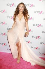 ELIZABETH HURLEY at Breast Cancer Research Foundation Hot Pink Party in New York