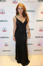 ELIZABETH HURLEY at QBF Spring Gala in London