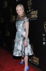 ELIZABETH MOSS at 30th Annual Lucille Lortel Awards in New York