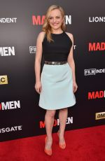 ELIZABETH MOSS at Mad Men Live Reading in Los Angeles