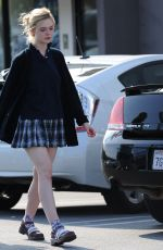 ELLE FANNING Out Shopping in Los Angeles 05/21/2015