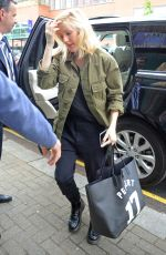 ELLIE GOULDING at a Recording Studio in London 05/20/2015