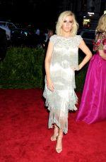 ELLIE GOULDING at MET Gala 2015 in New York