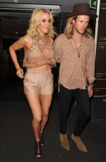 ELLIE GOULDING Night Out in London 05/13/2015
