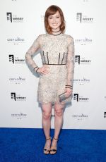 ELLIE KEMPER at 2015 Webby Awards in New York