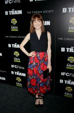 ELLIE KEMPER at The D Train Premiere in New York