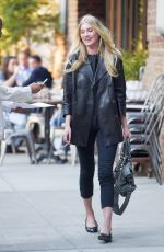 ELSA HOLK Out and About in New York 05/06/2015