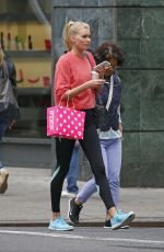 ELSA HOSK Out and About in New York 05/20/2015