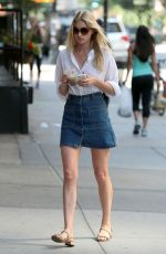ELSA HOSK Out and About in New York 05/30/2015