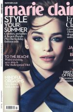 EMILIA CLARKE in Marie Claire Magazine, July 2015 Issue