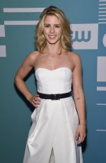 EMILY BETT RICKARDS at CW Network's 2015 Upfront in New York
