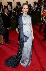 EMILY BLUNT at MET Gala 2015 in New York