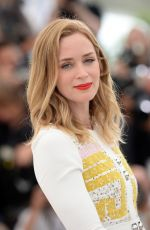 EMILY BLUNT at Scario Photocall in Cannes