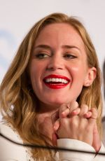 EMILY BLUNT at Sicario Press Conference at Cannes Film Festival