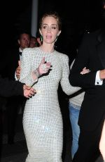EMILY BLUNT Leaves Sicario Party in Cannes