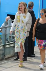 EMILY BLUNT Out and About in Cannes 05/19/2015